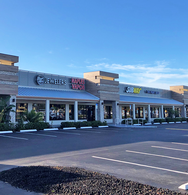 Plaza at 13800 Tamiami Trail Unit 109, Naples Commercial Properties for Lease | Baldridge Properties
