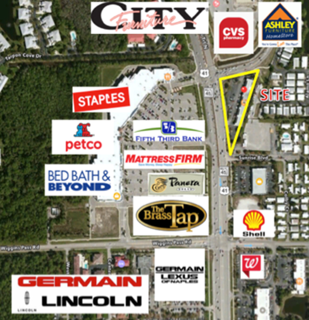 Trade Area of 13800 Tamiami Trail Unit 109, Naples Commercial Properties for Lease | Baldridge Properties