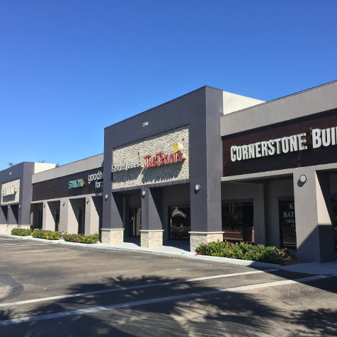 Commercial Real Estate Florida Modern Retail Spaces | Baldridge Properties Commercial Real Estate Development Company